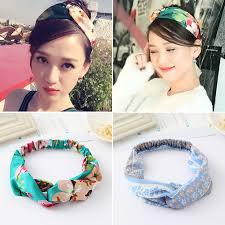 korean headband wash hair with hair headdress all match bow headband simple korean