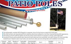 Seasonal Designs Flag Pole Patio Flag Poles Flag Poles U0026 Mountings Flags