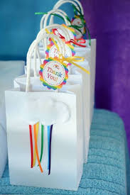 Birthday Favor Bags by Best 25 Bags Ideas On Diy Favors 1st