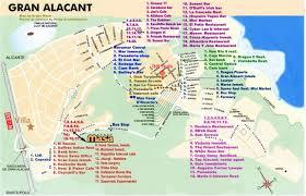 Alicante Spain Map by Our Alicante Villa Some Information