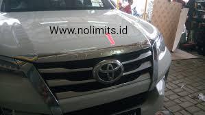 All New Pajero Sport List Kap Mobil Depan Molding Chrome toyota page 7 no limits