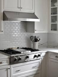 backsplash ideas for white kitchen white subway tile backsplash ideas great home interior and