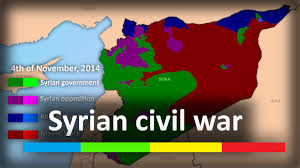 Syria Map Of Control by Syrian Civil War Every Week March 2011 June 2015 Youtube