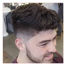taper fade curly hair men hairstyle app and taper fade with textured wavy hair all in