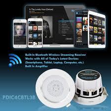 Wireless Speakers In Ceiling by Pyle Pdic4cbtl3b 3 U0027 U0027 Bluetooth Ceiling Wall Speaker Kit 4