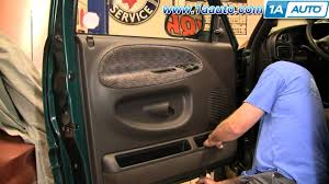 how to install replace a door panel dodge ram 94 01 1aauto com