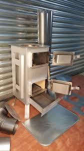 woodburning stove log burner multifuel tent greenhouse garage