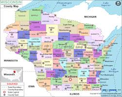 wisconsin county map wisconsin counties
