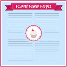 recipe card diy with free printable crafts unleashed