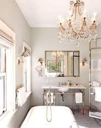 bathroom chandelier lighting ideas 15 wondrous bathroom design ideas rilane