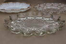 glass egg plate glass egg plates for deviled eggs milk glass clear glass egg