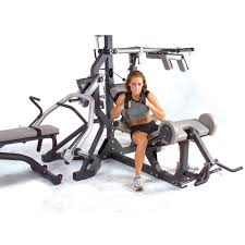 amazon com body solid sbl460p4 freeweight leverage gym package