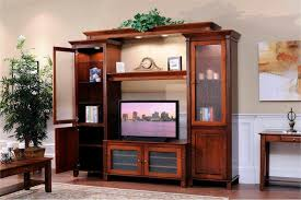 solid wood entertainment cabinet amish arlington entertainment center entertainment center wall