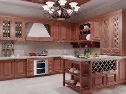 Modern Wooden Kitchen Cabinets Kitchen Brilliant All Wood Kitchen Cabinets Decor Ideas Solid