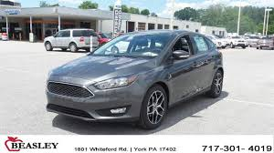 ford focus sel hatchback for sale 2017 ford focus for sale in york pa stock 171535