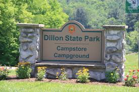 Ohio Campgrounds Map Dillon State Park Crazy4camping
