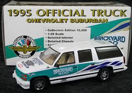 1995 Suburban Interior Official Chevy Suburban Diecast Brickyard 400 1 25 1995 Bank