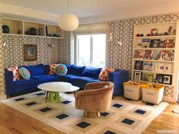 contemporary family room with carpet by d2 interieurs zillow