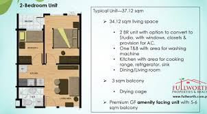 The Seawind Floor Plan by Sea Wind 2 Bed Condos For Sale Fullworth Properties And Realty