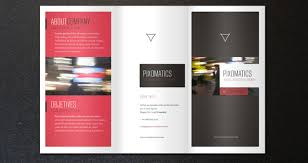 tri fold brochure ai template folding brochure templates fourthwall co