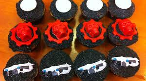 gears of war cupcakes nerdy nummies youtube
