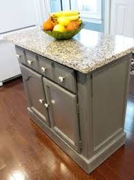 diy turn a common microwave cart into a vintage kitchen island