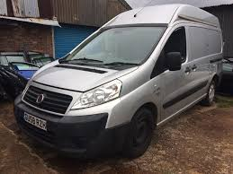 2008 58 fiat scudo 2 0jtd high roof camper conversion spares or