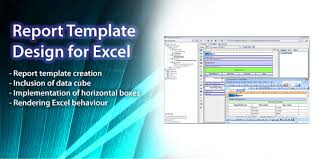 Excel Reports Template Elixir Technology Report Template Design For Excel Tutorial