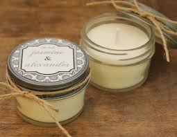 candle wedding favors set of 12 4 oz soy candle wedding favors west label design