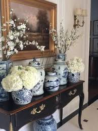 Blue And White Decorating Rooms Decorated With Blue And White Porcelain Google Search