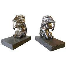 Unusual Bookends Art Deco Bookends For Sale Bookends Art Deco Collection