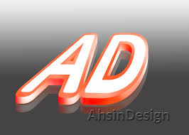 membuat garis 3d di photoshop membuat teks 3d dengan photoshop ahsindesign
