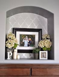 Wall Decor Exciting Recessed Wall Niche Decorating Ideas