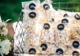 popcorn wedding favors diy santa barbara wedding jaymee reis real weddings 100