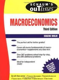 schaum u0027s outline of theory and problems of macroeconomics 3rd