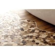 pebble tile natural stone tile the home depot home depot vita elegante ardesia 12 x 24 porcelain tile