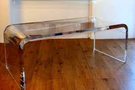 Waterfall Coffee Table Acrylic Coffee Table