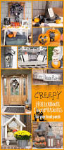 Outdoor Halloween Decor by 158 Best Outdoor Halloween Decor Images On Pinterest Outdoor