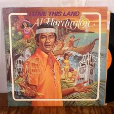 al harrington i love this land lp signed autographed hawaii five o