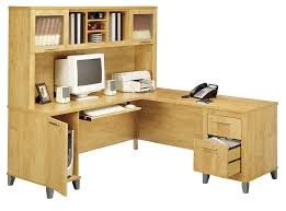 Large L Desk Bush Wc81410k Somerset 71 L Shaped Desk Maple Cross Free Shipping