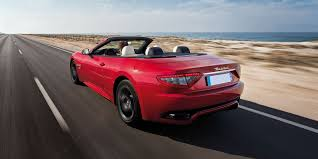 red maserati convertible maserati grancabrio review carwow