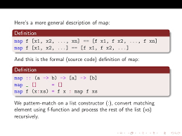 haskell map functional programming by exles haskell