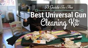 best gun cleaning table best universal gun cleaning kit 2017 reviews ultimate buying guide