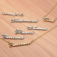 make your own name necklace winsome customize your own necklace make my name crown silver