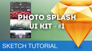 devmountain sketch 3 design workflow photo splash ui kit 01