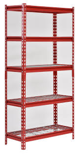Muscle Rack UR WD5 R 5 Shelf Steel Shelving Unit 30