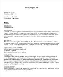 20 progress note examples u0026 samples