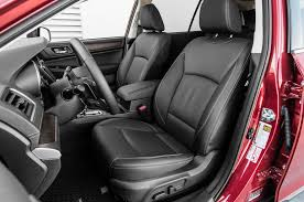 subaru tribeca 2017 interior 2018 subaru outback 2 5i first test review safe slow and