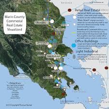 Marin Map Thomas Norian Marin County Investment Real Estate Broker