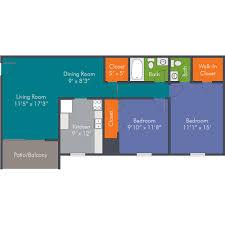 2 bedroom floor plans apartment homes in roanoke va the hampton